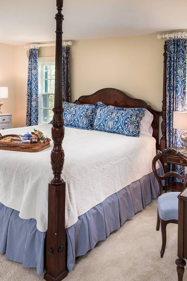 Emmett House Blue Bedroom