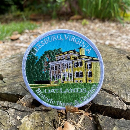 Oatlands Embroidered Patch