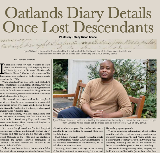 Oatlands Diary Article Country Zest
