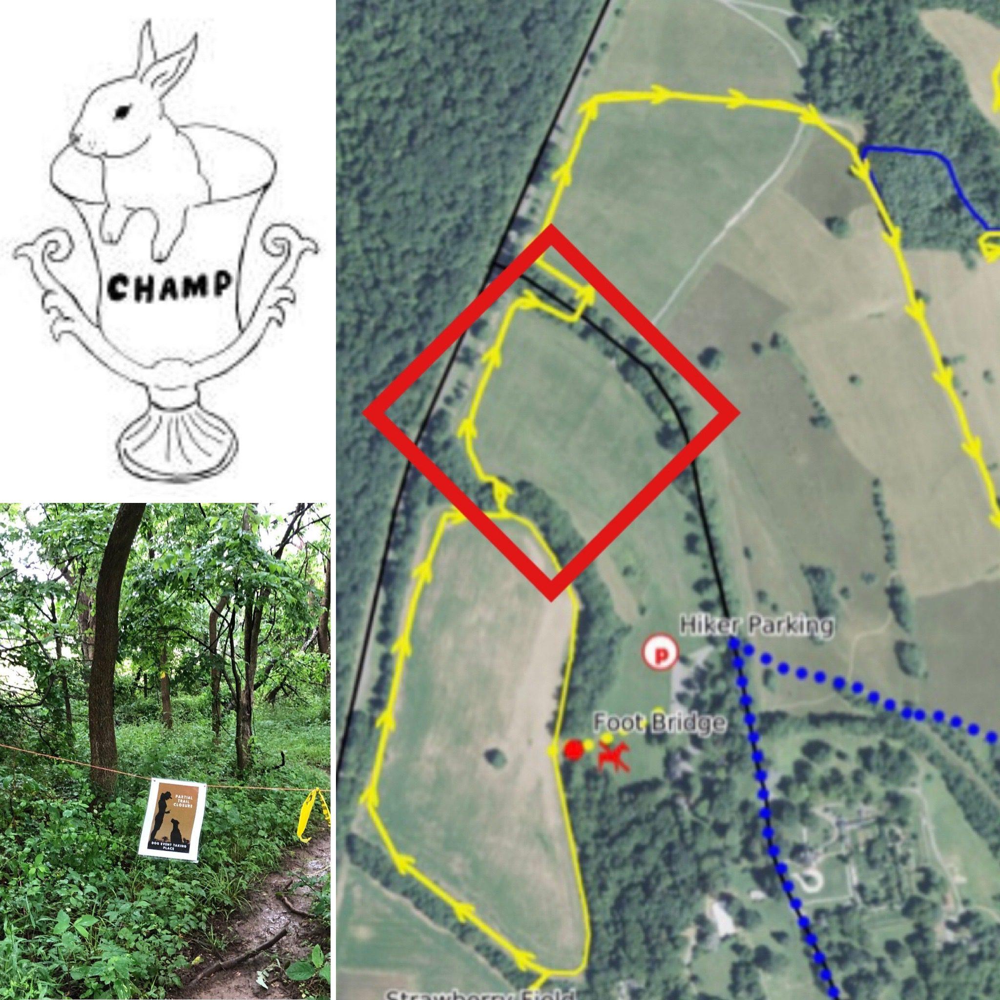 CHAMP trail map