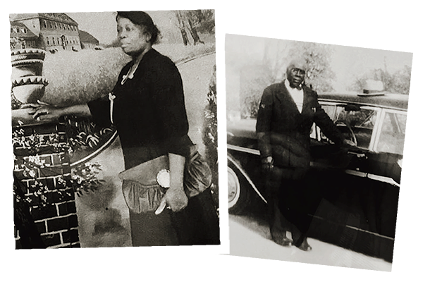 Irene Day Williams and Abraham Williams Dates unknown; photos courtesy of Ryan Williams.