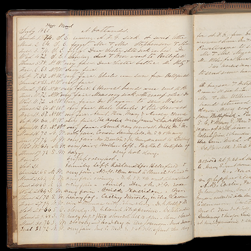 Diary of Elizabeth O. Carter