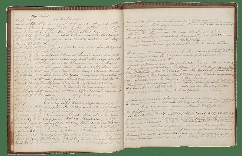 Diary of Elizabeth O. Carter Open