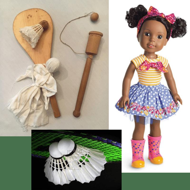 Games, American Girl doll